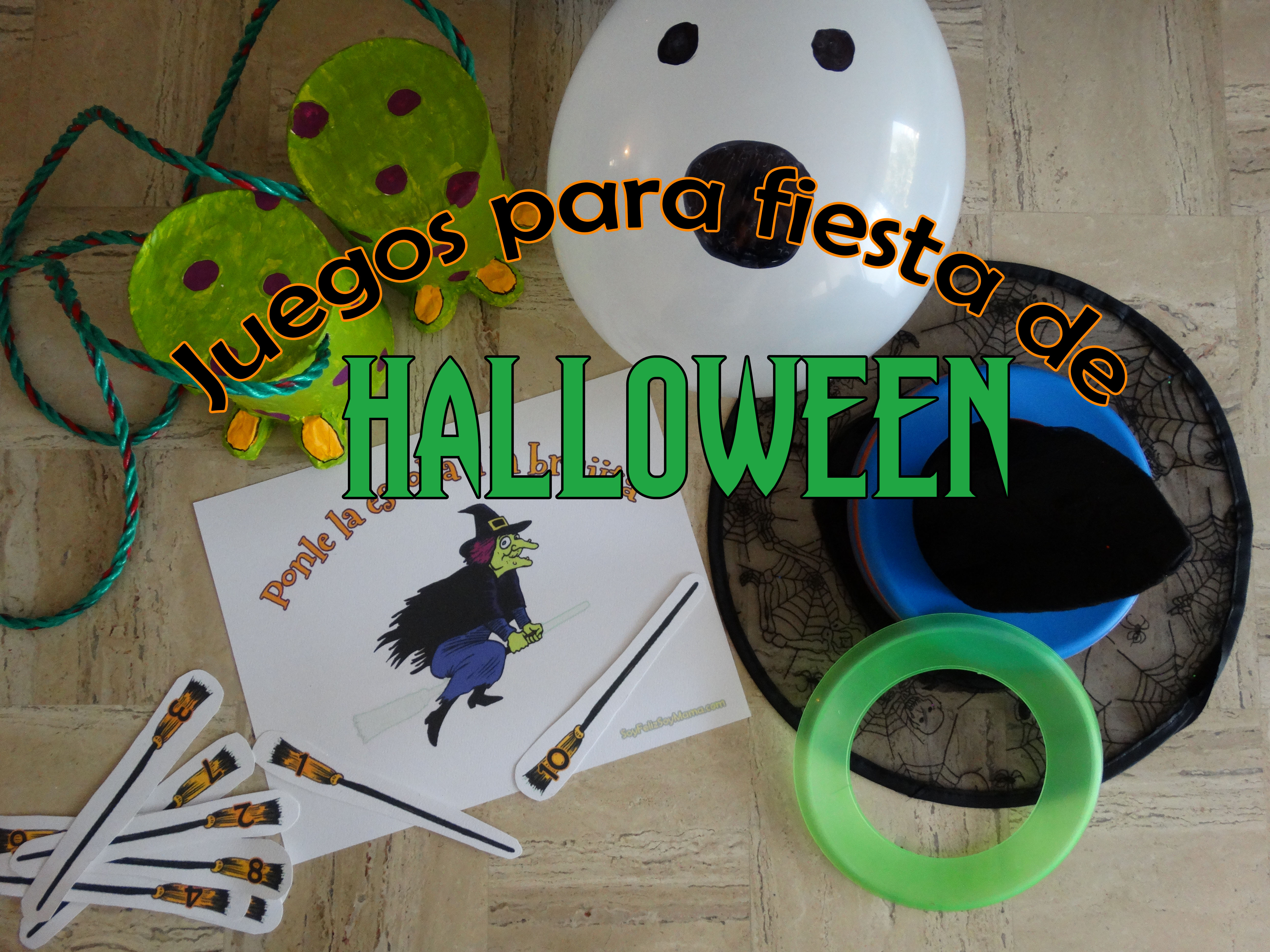 juegos para fiesta de halloween